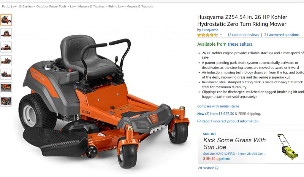 Amazon Affiliate Wrong Overprice Product