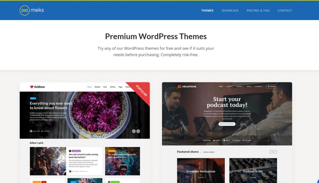 Meks WordPress Themes